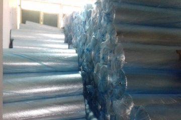 Jual Aluminium Foil Peredam Panas Atap Rumah Spandek Galvalum Baja Ringan Aluminium Bubble Foil Double Sided Single Sided untuk Insulasi Atap