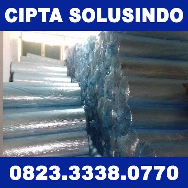 Suplier Aluminium Foil Insulasi Panas untuk Atap Bangunan kirim ke Batang